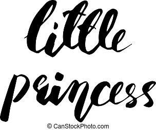 Little Princess lettering design