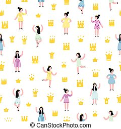 Little princesses pattern