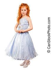 Little redhead girl