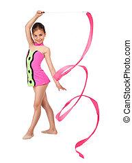 little rhythmic gymnast