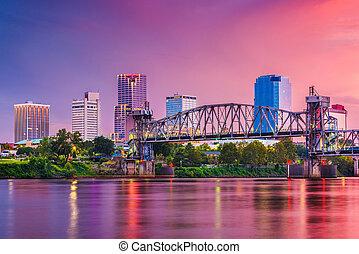 Little Rock, Arkansas, USA Skyline
