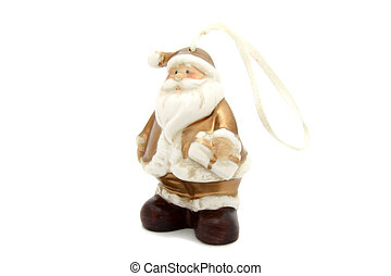 Little Santa Claus christmas tree toy
