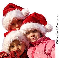 little santa clauses