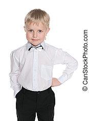Little schoolboy