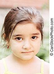 Little serene girl
