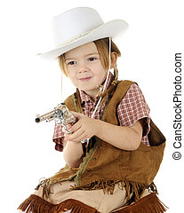 Little Shooting Cowgirl