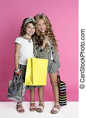 Little shopper humor shopaholic girls