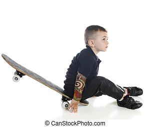 Little Skater at Rest