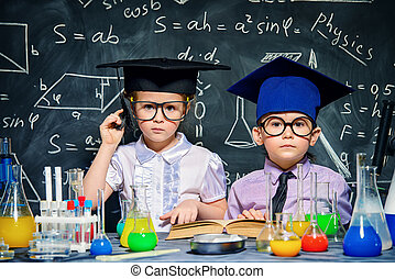little smart children