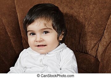 Little smiling girl