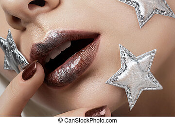 Little star creative makeup