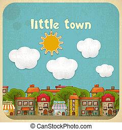 Little Town Color Houses