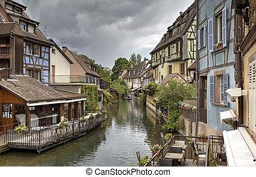 """Little Venice"". Colmar, France"