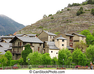 Little village in Pyrenees