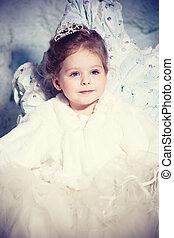 Little winter princess