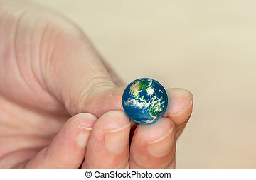 little world in the hand