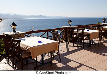 littoral, confortable, restaurant