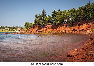 littoral, de, île prince edouard