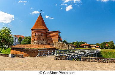 lituania, castillo, kaunas, ruinas