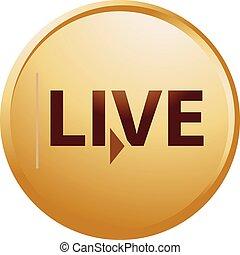 live button