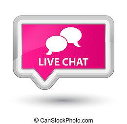 live tv prime pink banner button live tv isolated on prime pink banner button abstract. Black Bedroom Furniture Sets. Home Design Ideas