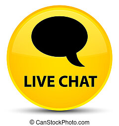 Live chat special yellow round button