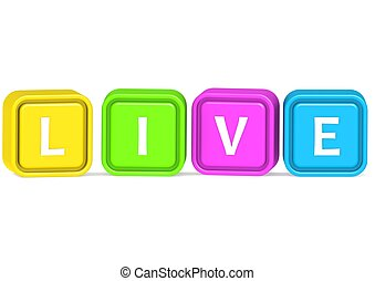 Live - Rendered artwork with white background