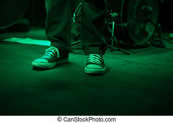 Live music sneakers