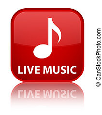 Live music special red square button