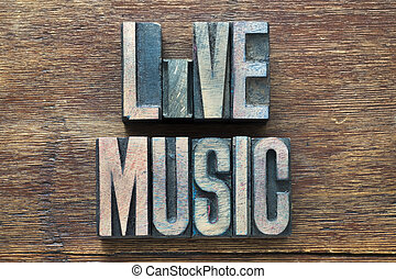 live music wood