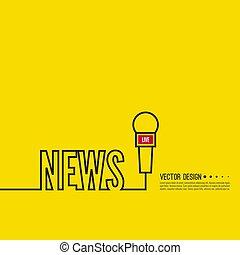 news banner template