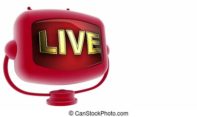 live on loop alpha mated tv