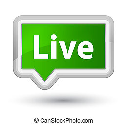 Live prime green banner button