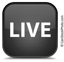 Live special black square button