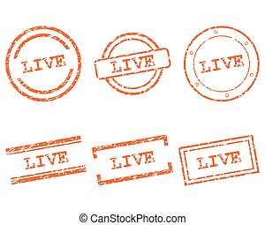 Live stamps