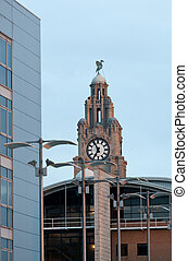 Liver Building tower