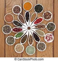 Liver Detox Superfood - Liver detox superfood selection in...