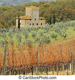 living in Tuscany, Italy, Europe