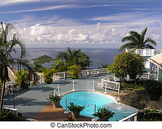 Living like a dream - A luxury home at the caribbean island...
