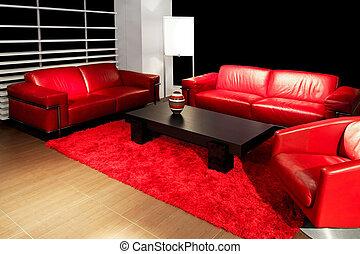 Living red angle
