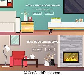 Living Room Furniture Banner