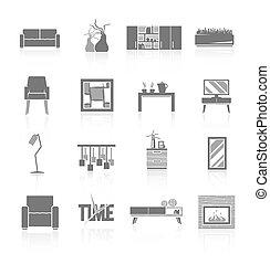 Living Room Icons Set