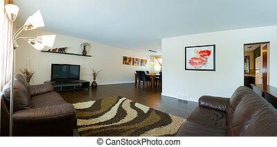 Interior design - Living room Interior design in a new house
