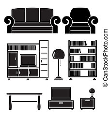 living room objects