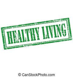 living-stamp, egészséges