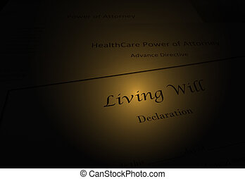 Living Will documents