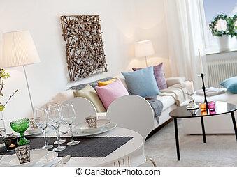 livingroom, intérieur, style de vie