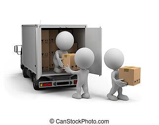 livraison, cargaison