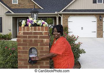 livraison, courrier, mon