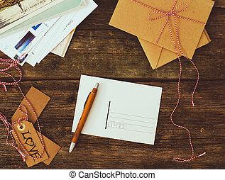 livraison, courrier